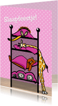 Kinderfeestjes - Slaapfeestje met dieren