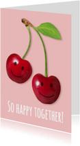 Liefde kaarten - So happy together!