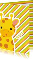 Sorry kaarten - Sorry Giraffe