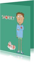 Sorry kaarten - Sorry Melksnorretje
