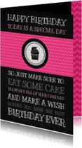 Verjaardagskaarten - special birthday wishes