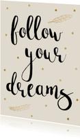 Spreukenkaarten - Spreukenkaart Dreams - WW