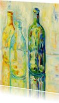 Kunstkaarten - Stilleven 3 flessen - OT