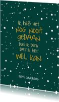 Succes kaarten - Succes Pippi Langkous