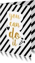 Succes kaarten - Succes yo can do it