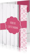 Moederdag kaarten - Tegoedbon voor mama