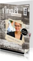 Jubileumkaarten - Tijdschrift Jubileum Medewerker