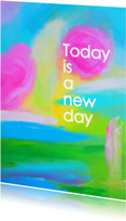 Coachingskaarten - Today is a new day