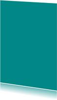 Turquoise enkel staand