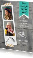 Uitnodigingen - Uitnodiging feest pasfoto lief