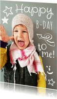Kinderfeestjes - Uitnodiging foto happy