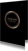 Uitnodigingen - Uitnodiging Goud 2 RB