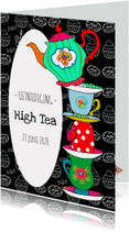 Uitnodigingen - Uitnodiging High Tea PA