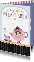 Uitnodigingen - Uitnodiging High tea - tirzaworld