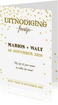 Uitnodigingen - Uitnodiging Jubileum goud av