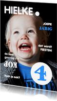 Kinderfeestjes - Uitnodiging Magazine Cover 3