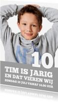 Kinderfeestjes - Uitnodiging Magazine Cover 7