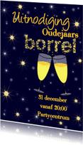 Uitnodigingen - Uitnodiging oude of nieuwjaarsborrel