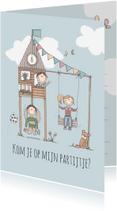 Kinderfeestjes - Uitnodiging Partijtje LFZ