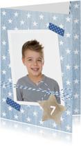 Kinderfeestjes - Uitnodiging Spijker Sterren