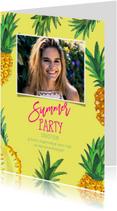 Uitnodigingen - Uitnodiging Tropisch feestje