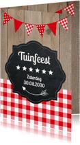 Uitnodigingen - Uitnodiging tuinfeest LB02