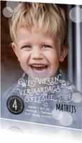 Kinderfeestjes - Uitnodiging waterverf jongen