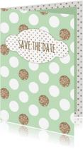 Uitnodigingen - Uitnodigingskaartje datum
