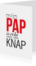 Vaderdag kaarten - Vaderdag Knap Pap