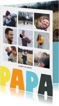Vaderdag kaarten - Vaderdagkaart 9 foto's