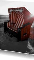 Ansichtkaarten - Vakantie duitse strandstoel