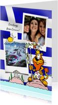 Vakantiekaarten - Vakantie Loeki in Griekenland
