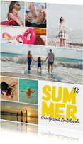 Vakantiekaarten - Vakantiekaart - modern met 8 foto's