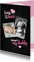 Valentijnskaarten - Valentijnskaart voor papa