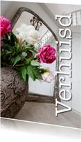 Felicitatiekaarten - Verhuisd - mooi interieur - OT