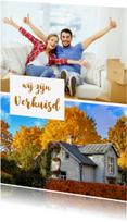 Verhuiskaarten - Verhuiskaart collage staand - OT