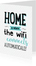 Verhuiskaarten - Verhuiskaart Wifi