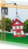 Verhuiskaarten - Verhuis/verbouwkaart - Remco
