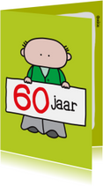 Verjaardagskaarten - Verjaardag 60 Jaar