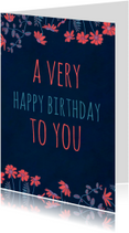 Verjaardagskaarten - verjaardag-a very happy-KK