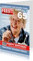 Uitnodigingen - Verjaardag FEEST Tijdschrift
