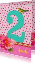 Verjaardagskaarten - Verjaardag Meisje 2