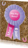 Verjaardagskaarten - Verjaardag Paardenmeisje