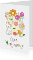 Verjaardagskaarten - Verjaardagskaart dieren
