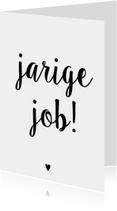 Verjaardagskaarten - Verjaardagskaart Job