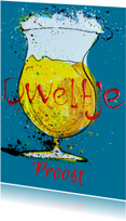 Verjaardagskaarten - Verjaardagskaart man biertje