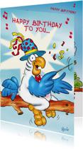Verjaardagskaarten - Verjaardagskaart Rocco 24 rocco als dirigent