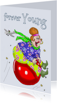 Verjaardagskaarten - Verjaardagskaart Skippybal