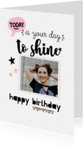 Verjaardagskaarten - Verjaardagskaart your day