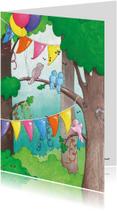Verjaardagskaarten - Verjaardagsvogeltjes
